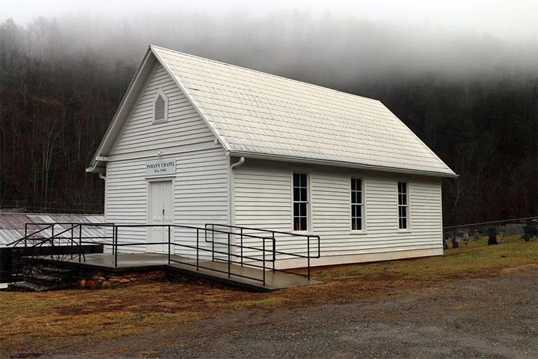 Nhà thờ lịch sử Inman 122 tuổi đang bị mối tấn công