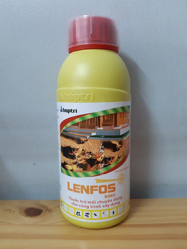 lenfos 50 ec thuốc diệt mối chuyên dụng cho công trình