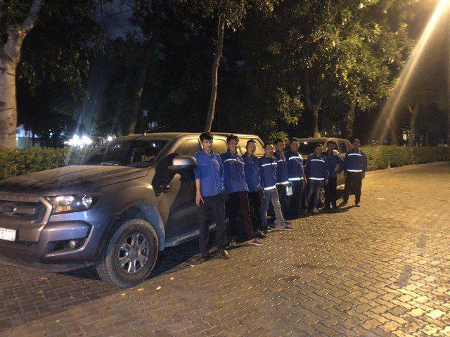 Đội ngũ nhân viên kỹ thuật Hạnh Long