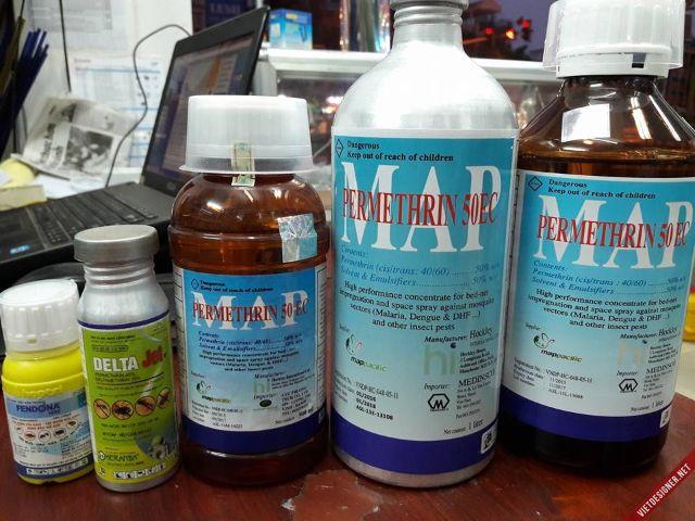 Phun thuốc muỗi có độc hại không 1