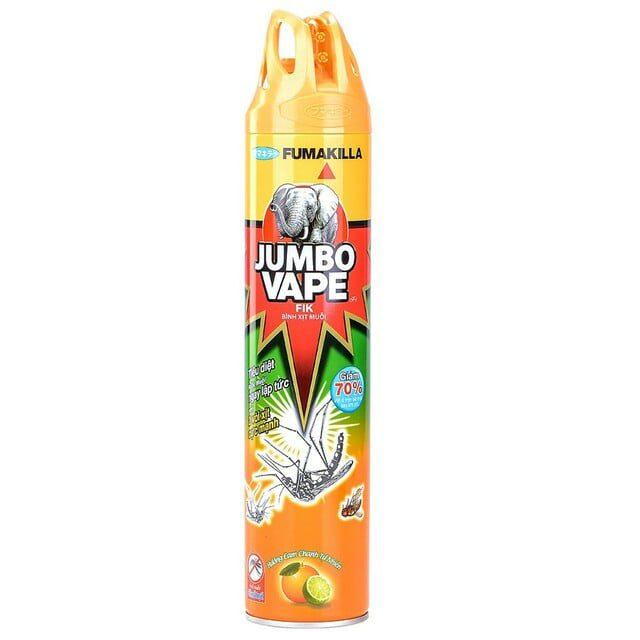 Bình xịt muỗi Jumbo Vape Fik